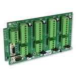 DSJ4 | PCB Board for mounting 4 DSC Digital Load Cell Converters