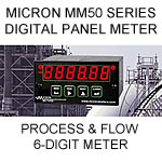 Micron Digital Panel Meter | Process Meter | Flow Totalizer