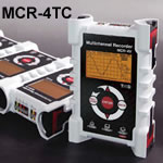 MCR-4TC | Multi-channel Thermocouple Recorder