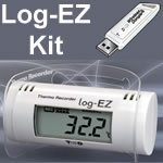 RTR-322/300 Log-EZ Thermo-Recorder | Combo Kit