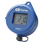 TV-4500 Temperature and RH data logger with display
