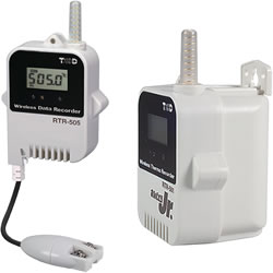 RTR-505-PTL Temperature Logger | Wireless |  PT-100 / PT-1000 Sensor Type | Large Battery Pack