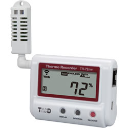TR-72nw Temperature Data Recorder Ethernet Network Wired
