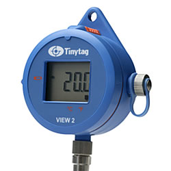 TV-4204  Display low temperature logger and probe