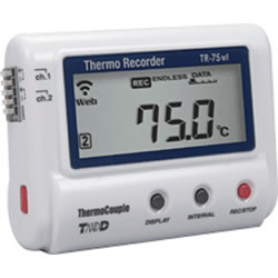 TR-75wf Thermocouple Temperature Data Logger